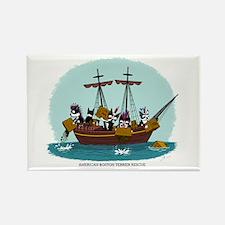 Boston Tea Party Rectangle Magnet