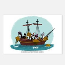 Boston Tea Party Postcards (Package of 8)