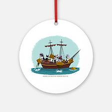 Boston Tea Party Ornament (Round)