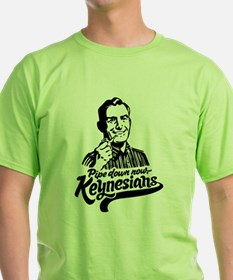 Pipe Down Keynesians T-Shirt