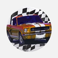 1966 Mustang Ornament (Round)