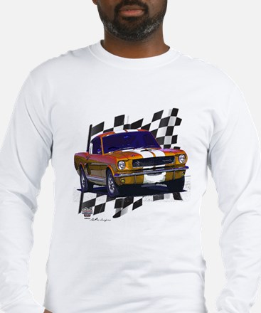 1966 Mustang Long Sleeve T-Shirt