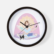 Busy Zen Mom Wall Clock