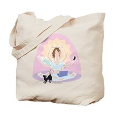 Busy Zen Mom Tote Bag