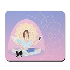 Busy Zen Mom Mousepad