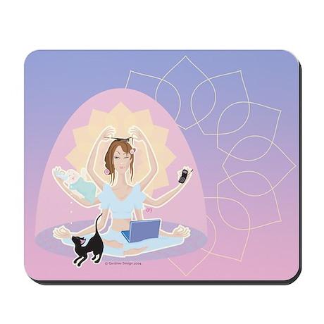 Busy Zen Mom Mousepad