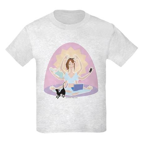Busy Zen Mom Kids Light T-Shirt