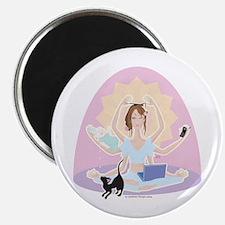 """Busy Zen Mom 2.25"""" Magnet (10 pack)"""