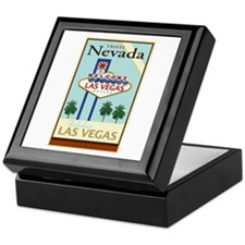 Travel Nevada Keepsake Box