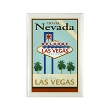 Travel Nevada Rectangle Magnet