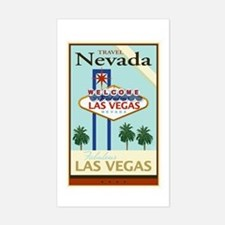 Travel Nevada Sticker (Rectangle)