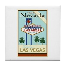Travel Nevada Tile Coaster