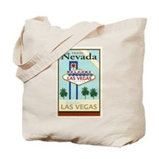 Travel Nevada Tote Bag