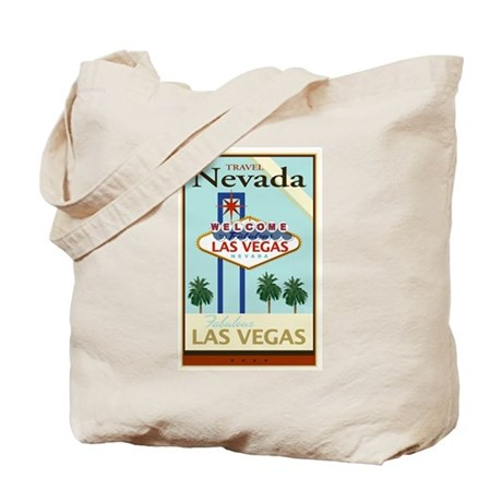 Travel Nevada Tote Bag