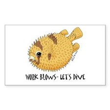 Puffer Rectangle Decal