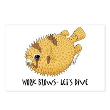 Puffer Postcards (Package of 8)