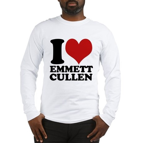 I Love Emmett Cullen Long Sleeve T-Shirt