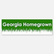 Georgia Homegrown Bumper Bumper Bumper Sticker