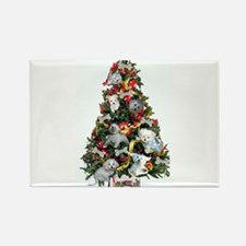 Funny Christmas maltese Rectangle Magnet