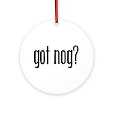 Got Nog? Ornament (Round)