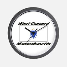 West Concord Massachusetts Wall Clock
