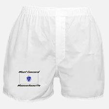 West Concord Massachusetts Boxer Shorts