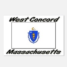 West Concord Massachusetts Postcards (Package of 8