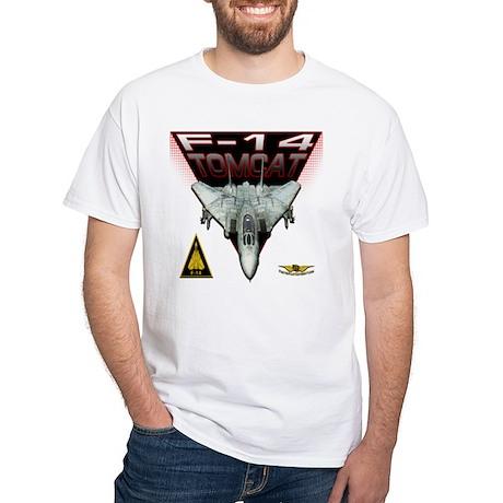 Tomcat White T-Shirt