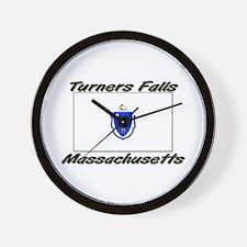 Turners Falls Massachusetts Wall Clock