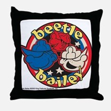 Unique Beetle bailey Throw Pillow