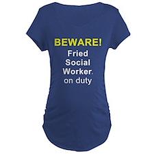 BEWARE Fried SW On Duty T-Shirt