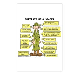 Portrait of a Loafer Postcards (Package of 8)