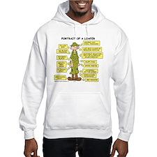 Portrait of a Loafer Hooded Sweatshirt