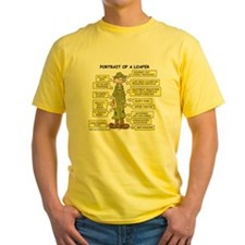 Portrait of a Loafer Yellow T-Shirt