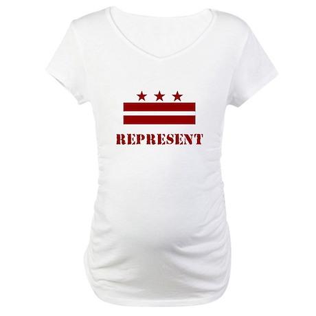 DC Represent! Maternity T-Shirt