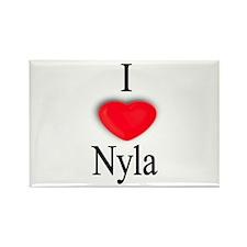 Nyla Rectangle Magnet (100 pack)
