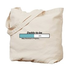 Download Daddy to Be Tote Bag