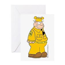 Sergeant Snorkel Greeting Card