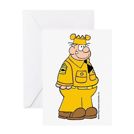 Sergeant Snorkel Greeting Card
