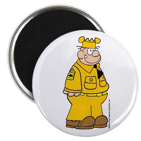 Sergeant Snorkel Magnet