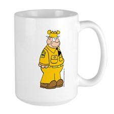 Sergeant Snorkel Large Mug