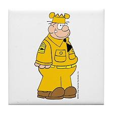 Sergeant Snorkel Tile Coaster