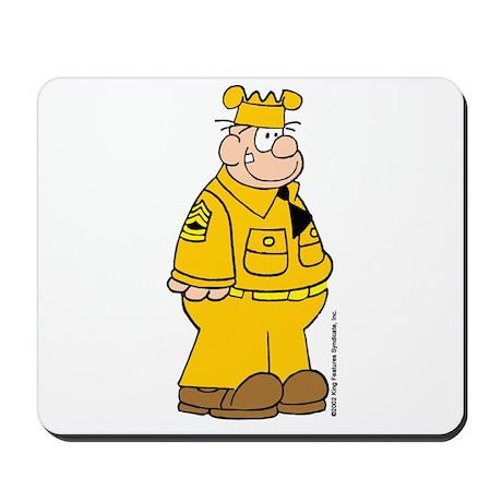 Sergeant Snorkel Mousepad