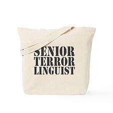 Sr Terror Linguist Tote Bag