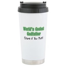 World's Coolest Godfather Travel Mug