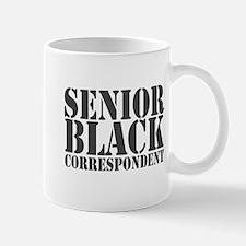 Sr Black Correspondent Mug