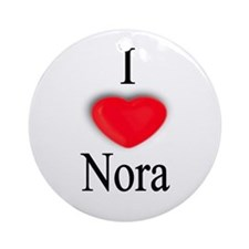 Nora Ornament (Round)