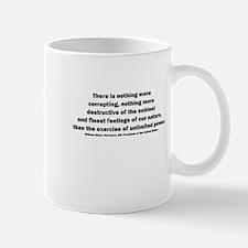 William Henry Harrison Quote Mug