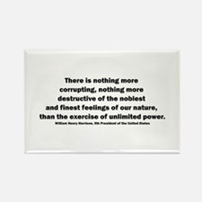 William Henry Harrison Quote Rectangle Magnet