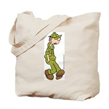 Cute Beetle bailey Tote Bag